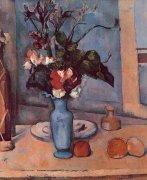 Blue Vase by Paul Cezanne
