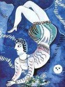 Acrobat by Marc Chagall