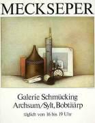 Stilleben mit Radierzubehör by Friedrich Meckseper