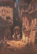 Post by Carl Spitzweg