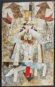 Der wilde Mann by Paul Klee