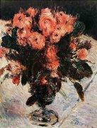Roses by Pierre Auguste Renoir