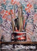 Savarin Monotype, 1982 by Jasper Johns