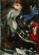 The Flying Horse by Marc Chagall