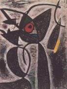 The Red Eye, 1964 by Joan Miro