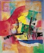 Farbsinfonie I by Ernst-Peter Rade