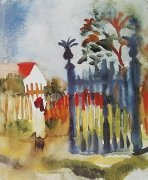 Gartentor by August Macke