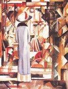 Großes Helles Schaufenster by August Macke