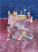 Partie aus G by Paul Klee