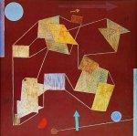 Auftrieb und Weg by Paul Klee