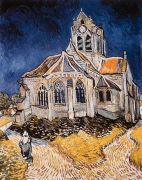 Church at Auvers by Vincent Van Gogh