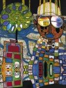 Tropenchinese by Friedensreich Hundertwasser
