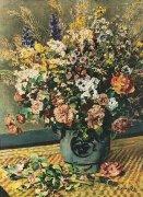 Flower Bouquet by Pierre Auguste Renoir