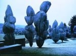 Wrapped Trees Nr. 10 (Riehen) by Javacheff Christo