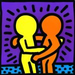 Untitled (1987) by Keith Haring