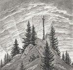 Dürer, Kreuz im Gebirge by Zwicker