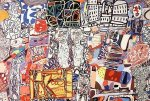 Mêle Moments, 1976 by Jean Dubuffet