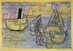 Dampfer und Segelboote, 1931 by Paul Klee