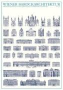 Vienna - Wiener Barockarchitektur by Architekturplakate