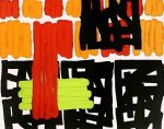 Incremental Identity, 1993 by Jonathan Lasker