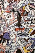Hourloupe, 1963 by Jean Dubuffet