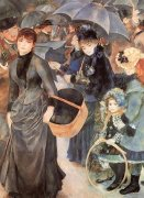 The Umbrellas, c.1881 by Pierre Auguste Renoir