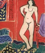 Nude in Red Interior by Henri Matisse