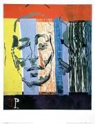 Ohne Titel (aus Serie Jacqueline) by Kippenberger