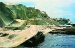 Wrapped Coast, 1969 by Javacheff Christo