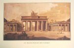 Brandenburger Tor by Architekturplakate