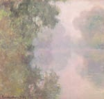 The Seine at Giverny Morning Mists 1897