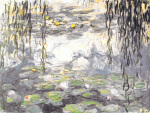 Water Lilies & Willow Branches