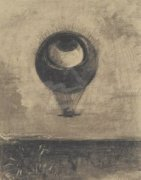 Eye-Balloon by Odilon Redon