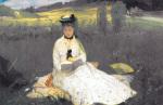 Reading by Berthe Morisot