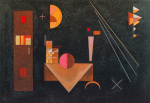 Two Crosses, 1929 by Wassily Kandinsky