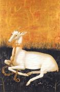 The Wilton Diptych (verso): White Hart