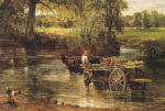 Detail from The Hay Wain 1821