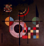 Counter-Gravitation by Wassily Kandinsky