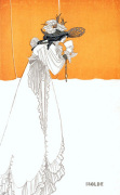 Isolde by Aubrey Beardsley