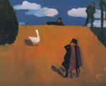 The Goose, c.1890-91 by Edouard Vuillard
