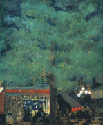 The Guinguette, c.1898 by Edouard Vuillard