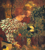 The Striped Blouse, 1895 by Edouard Vuillard