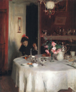 The Breakfast Table, 1883-84 by John Singer Sargent