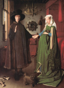The Arnolfini Portrait by Jan Van Eyck