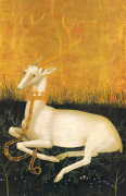 The Wilton Diptych (verso): White Hart