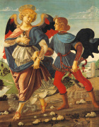 Tobias and the Angel by Workshop of Verrocchio