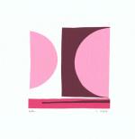 Ballon (serigraph) by Denise Duplock