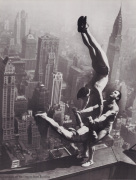 Acrobats on the Empire State Building
