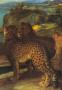 Detail from Bacchus & Ariadne, 1521-3 by Titian