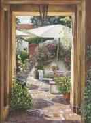 Courtyard Passage by William Mangum
